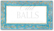 Product Image For Faux-Tuny Azure Reply Card